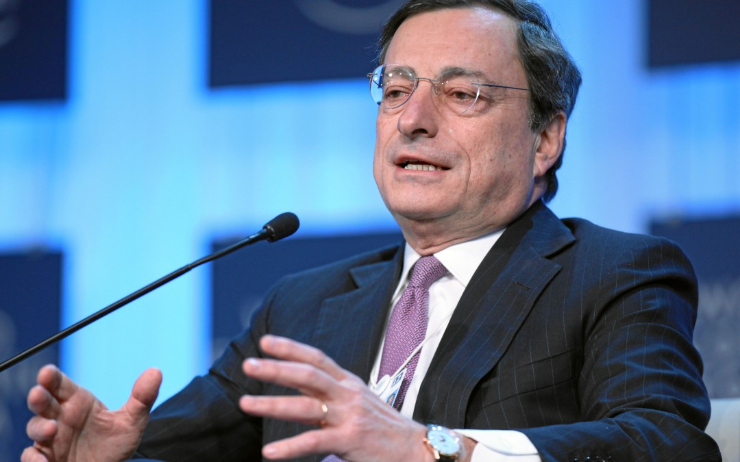 Draghi walks the walk!