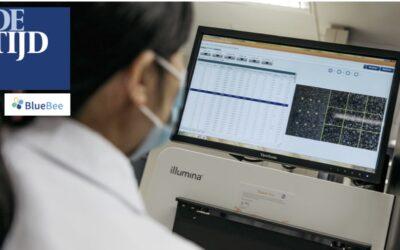 Amerikanen kopen Belgisch-Nederlandse DNA-parel Bluebee